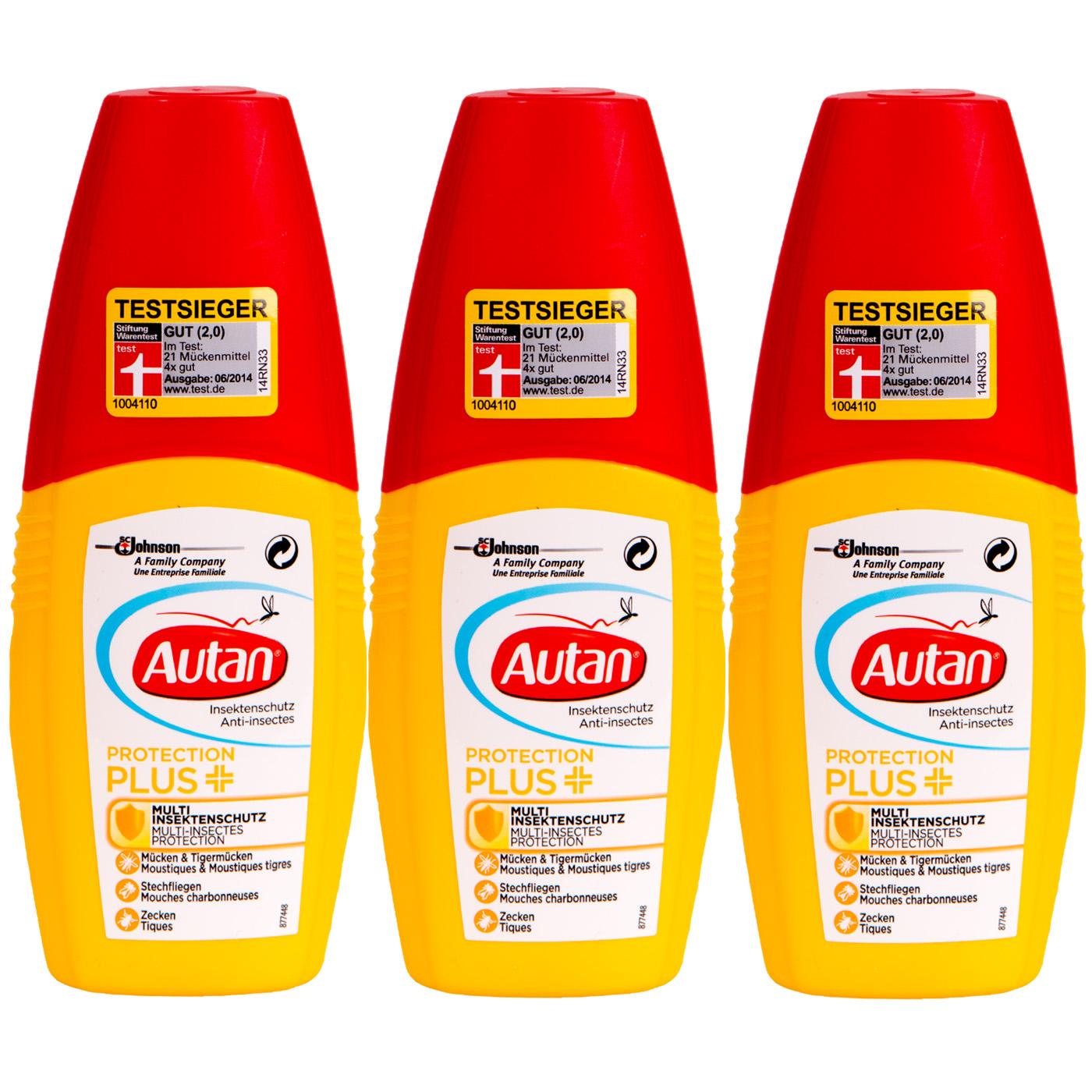 AUTAN Protection Plus Multi Protection Insectes Tiger-Moustiques-étangs-tiques