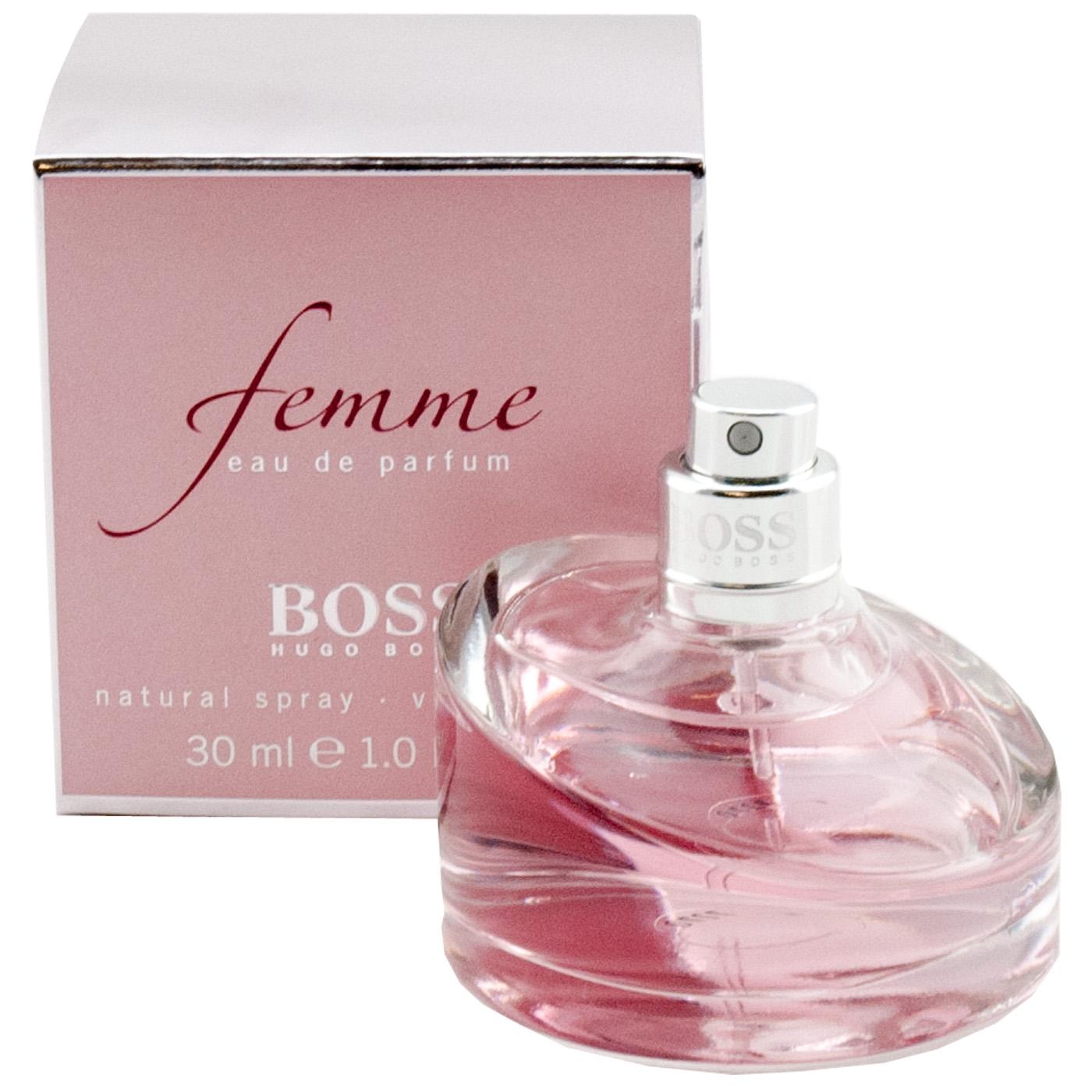 9ac1364c7d4 Details about Hugo Boss Femme 1oz Eau de Perfume Edp Spray for Woman